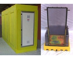 unita di decontaminazione del materiale A.R.T. tre stadi