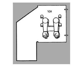 Glovebag Verticali V24